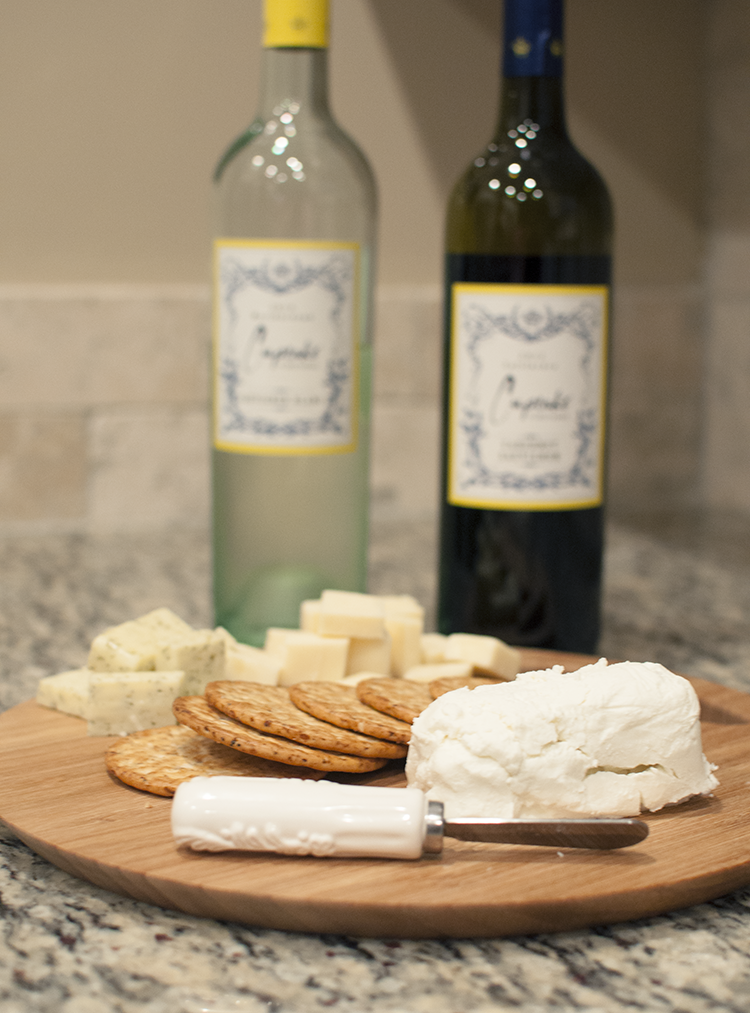 My go-to wines and a fun cheese plate