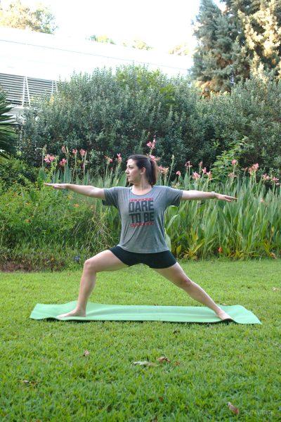 Yoga in the Georgia Botanical Gardens