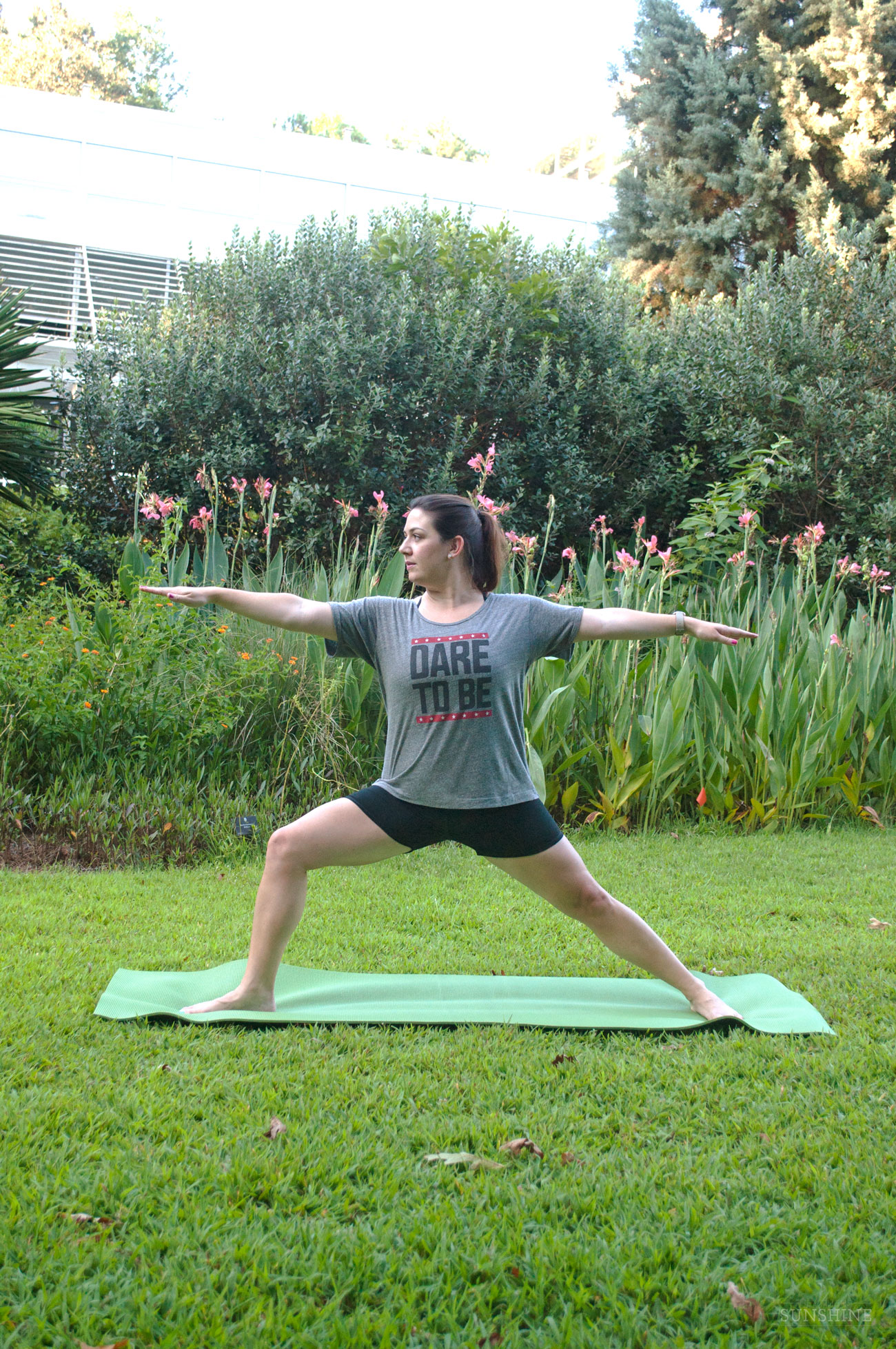 Yoga in the Georgia Botanical Gardens