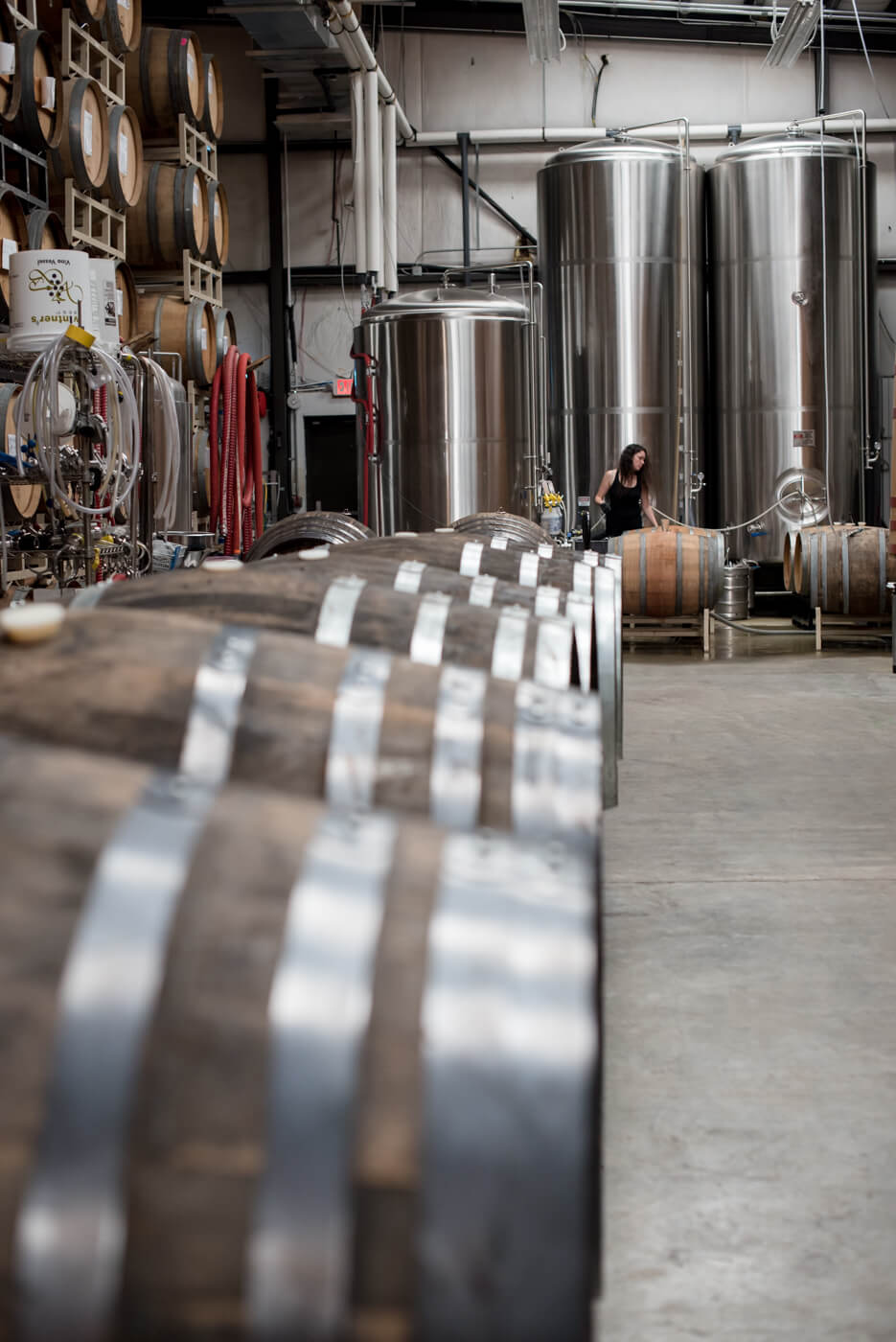 Wicked Weed Funkatorium, Asheville, Brewery Tour