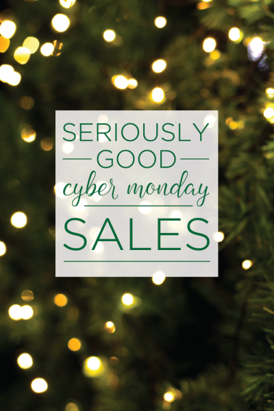 Seriously Good Cyber Monday Sales, @missmollymoon
