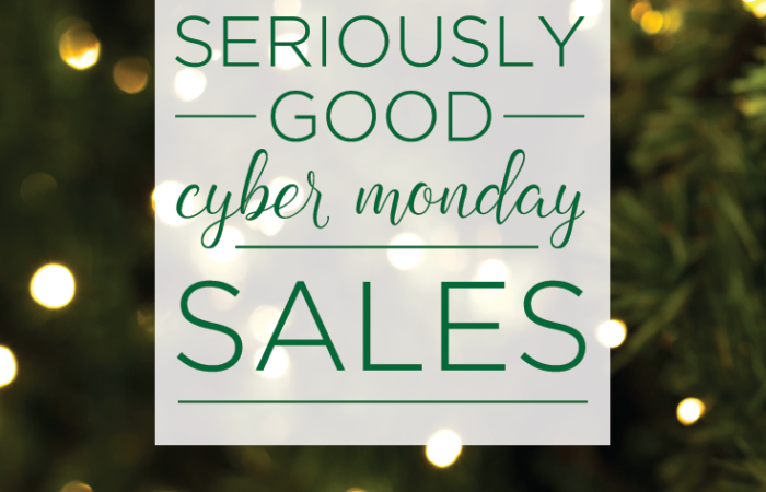 Seriously Good Cyber Monday Sales
