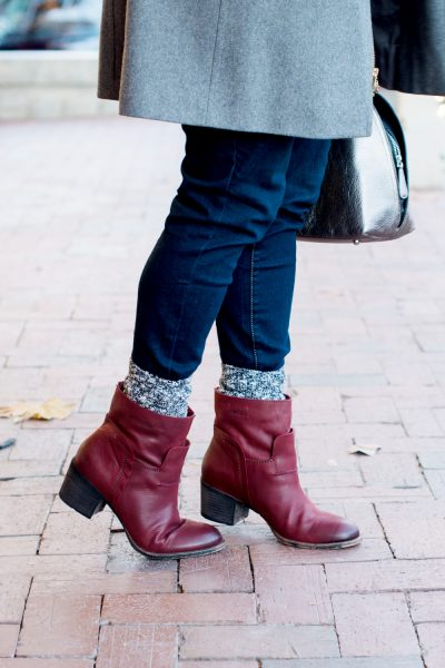 Cold Weather Style | Michael Kors Coat, OTBT Boots, Vera bradley Bag via @missmollymoon