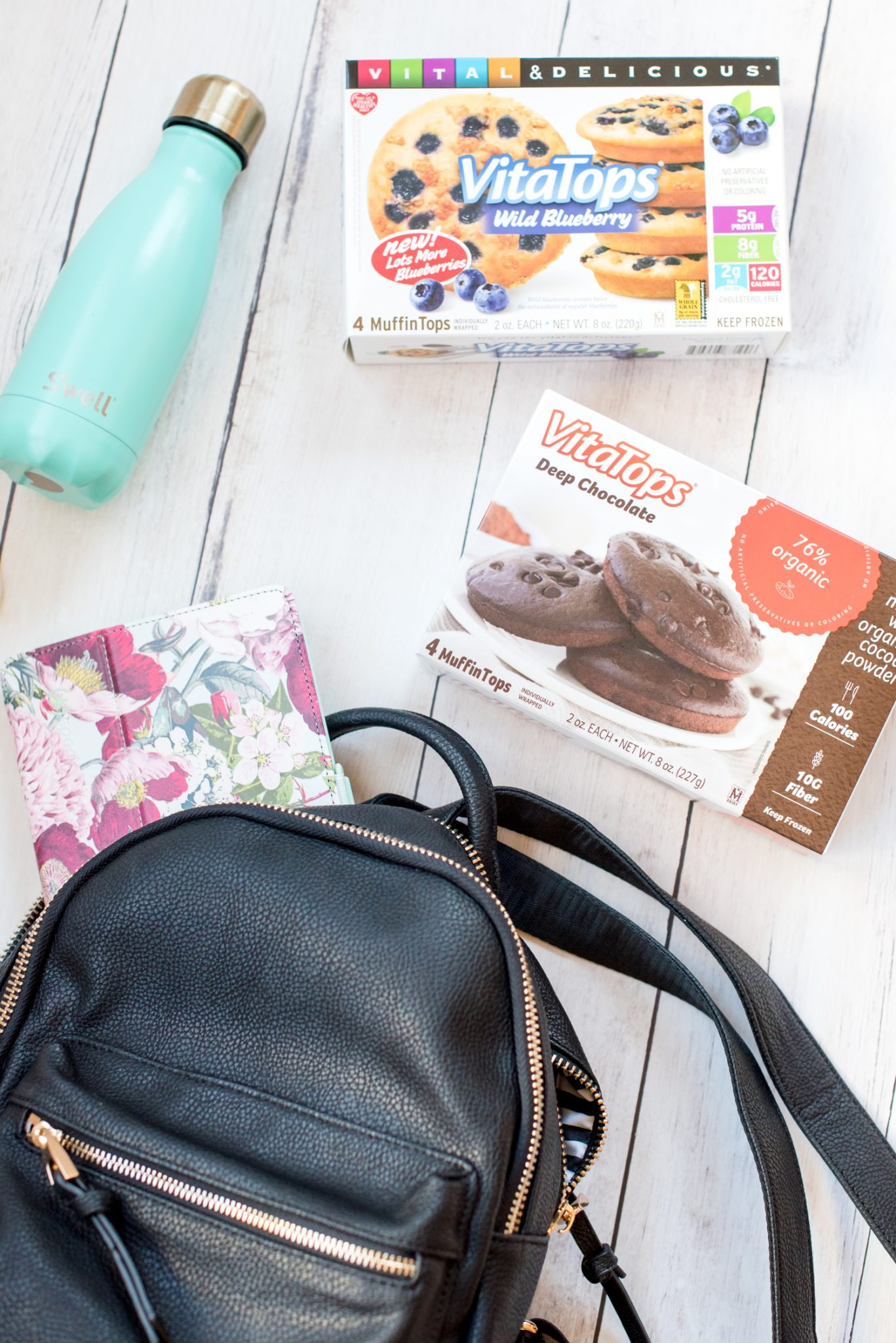 Healthy Snacks on the go with VitaTops