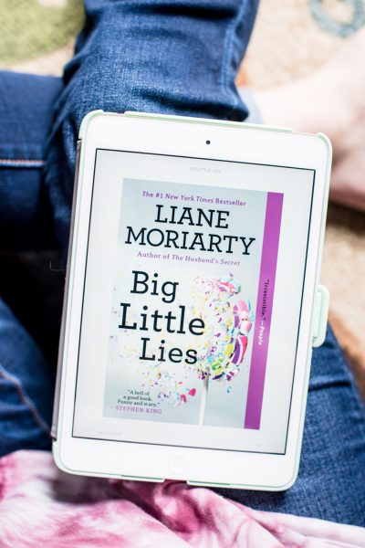 Reading Big Little Lies + February Reading Goals via @missmollymoon