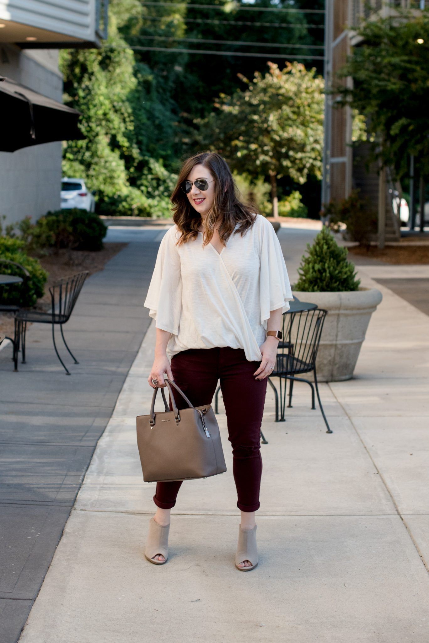 How to Dress for Fall When It's Still Hot Outside // Miss Molly Moon