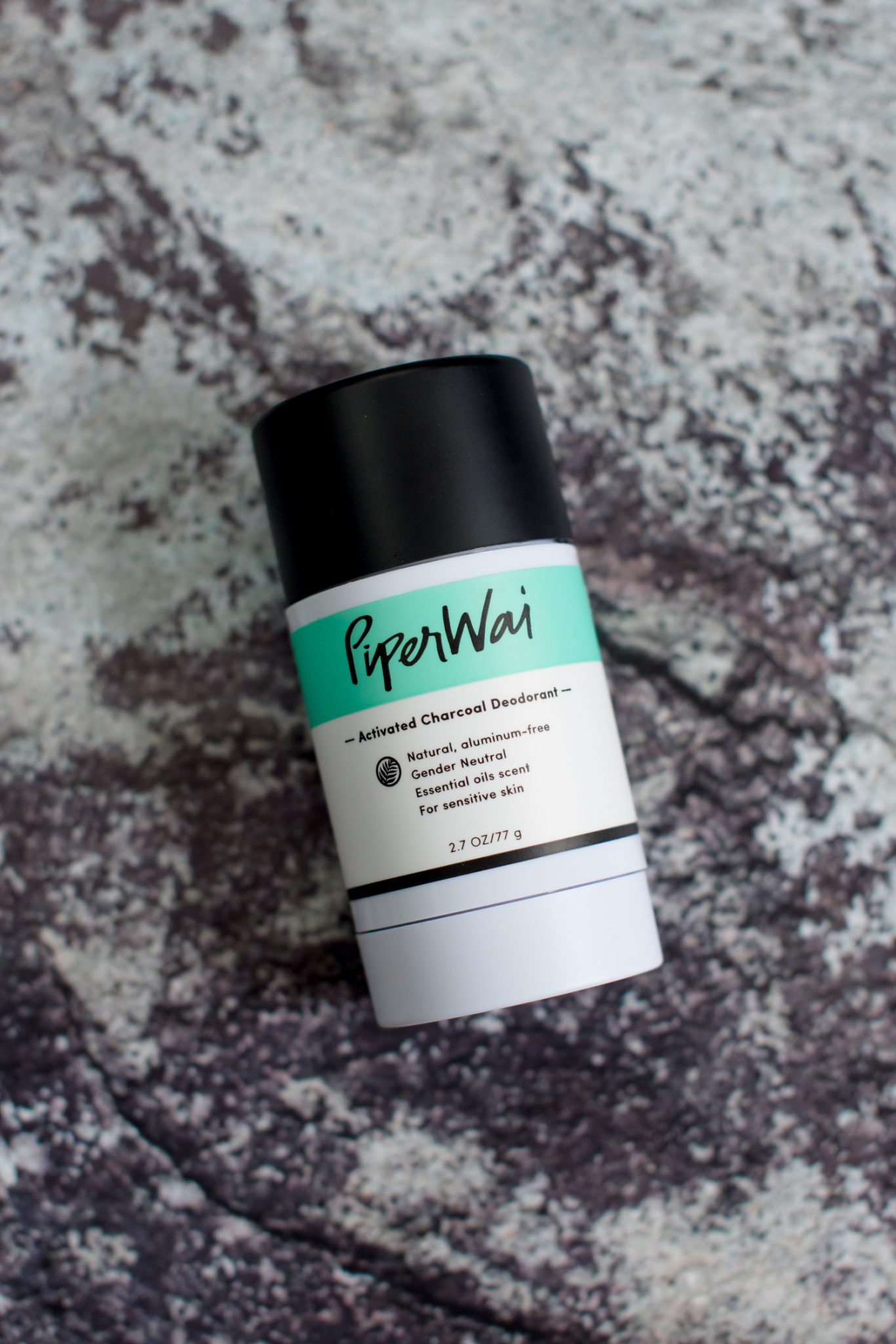 My Three Favorite Natural Deodorants, Piperwai Activated Charcoal Deodorant // Miss Molly Moon | The Best Natural Deodorants featured by top Atlanta life an style blogger, Miss Molly Moon: Piperwai Activated Charcoal
