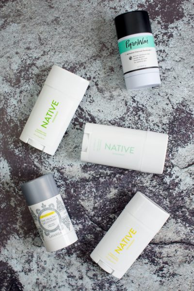 My Three Favorite Natural Deodorants // Miss Molly Moon | The Best Natural Deodorants featured by top Atlanta life an style blogger, Miss Molly Moon: Schmidt's & Schmidt's Sensitive, Piperwai Activated Charcoal, Kiss My Face Native & Native Sensitive Lavanila Sport Luxe