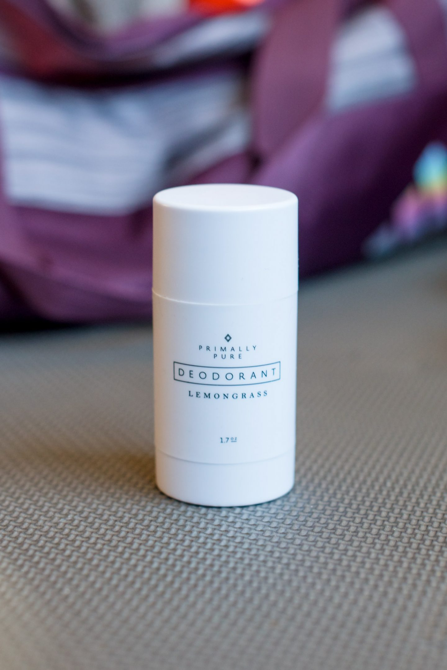 The best clean deodorant featured by top US beauty blogger, Miss Molly Moon: Primally Pure Deodorant