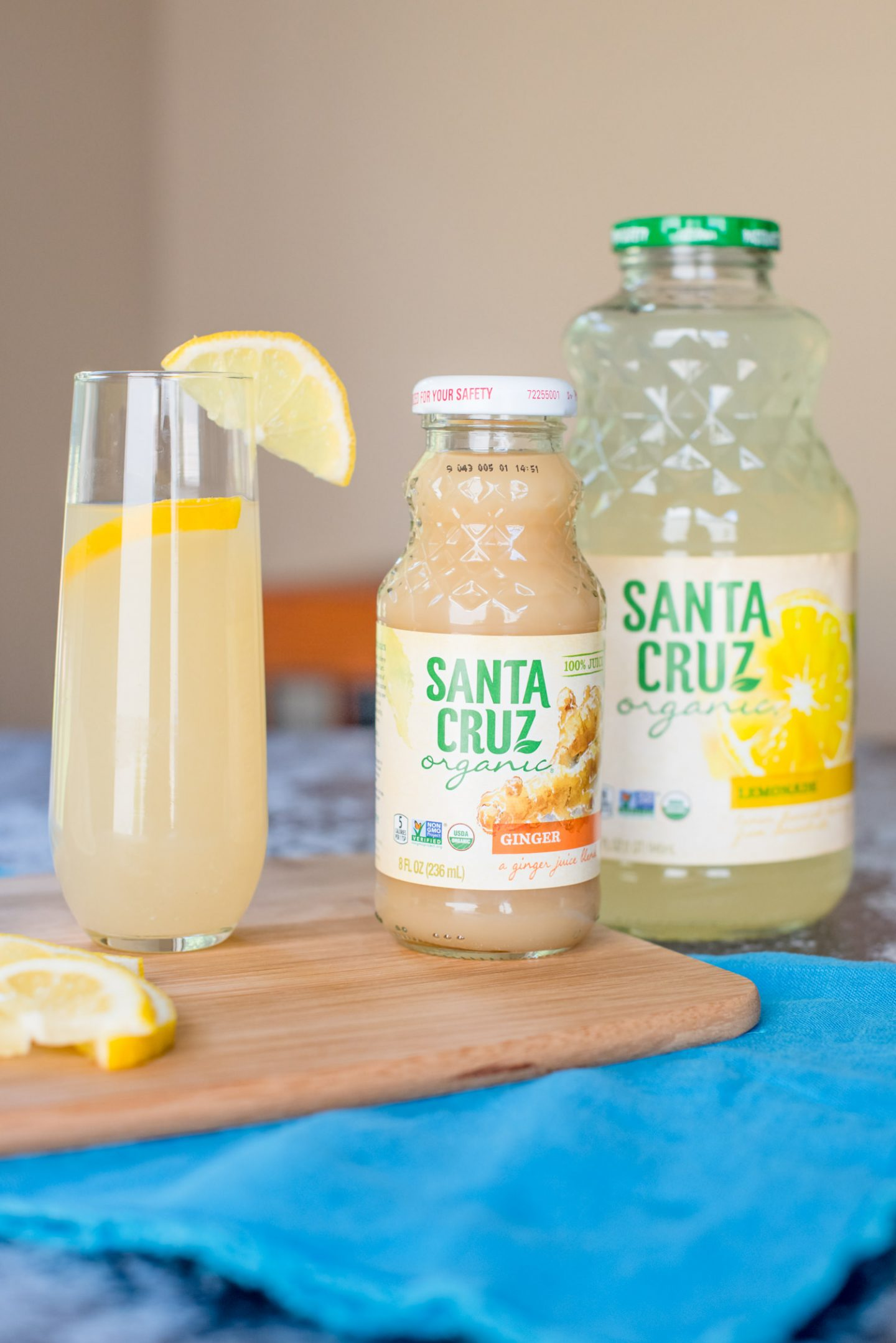 The Ingredients for a Spiked Ginger Lemonade