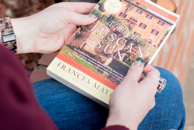 5 Books I'm Reading Before I Go to Italy