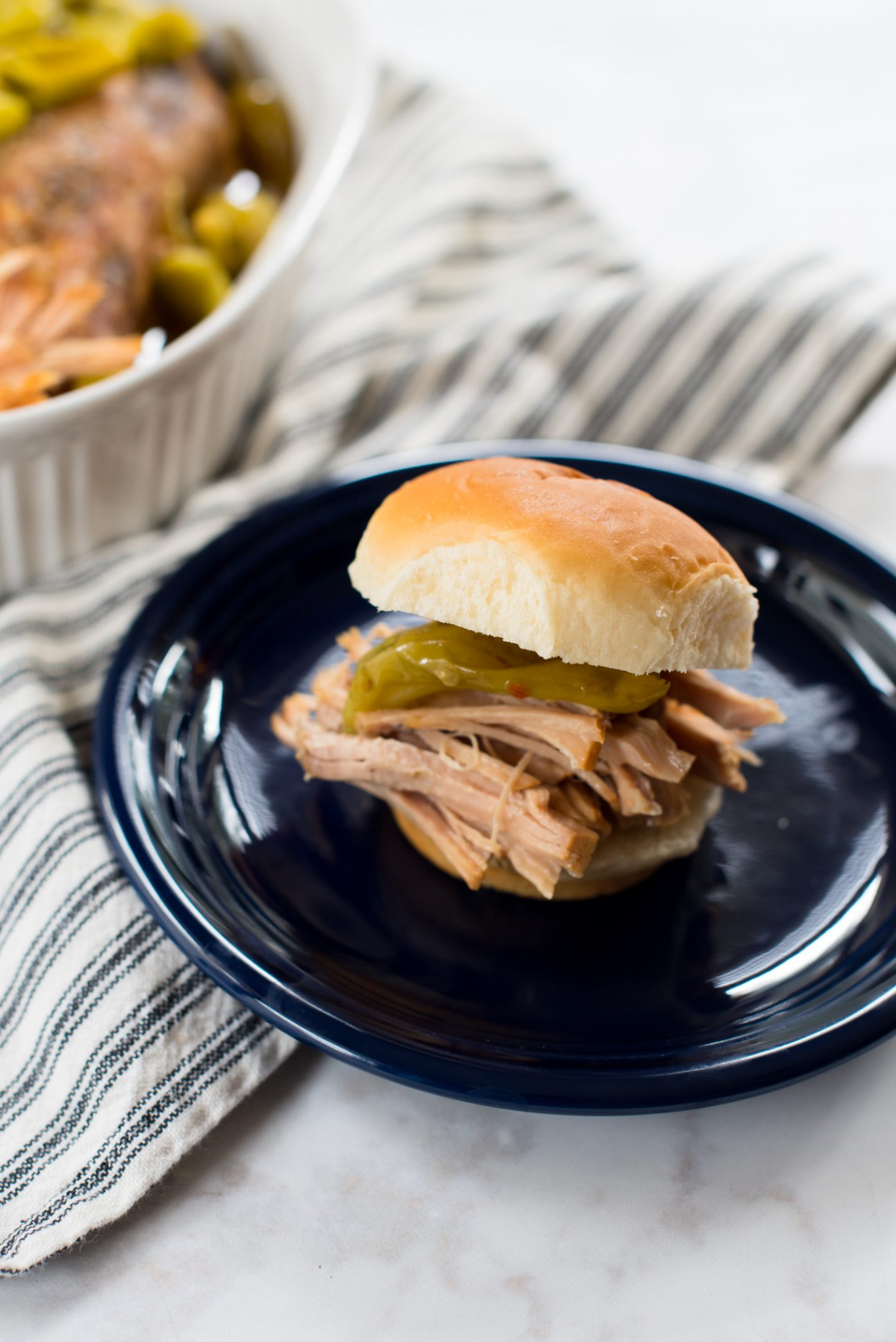Easy Low Carb Dinner: 3 Ingredient Pepperoncini Pulled Pork // Miss Molly Moon