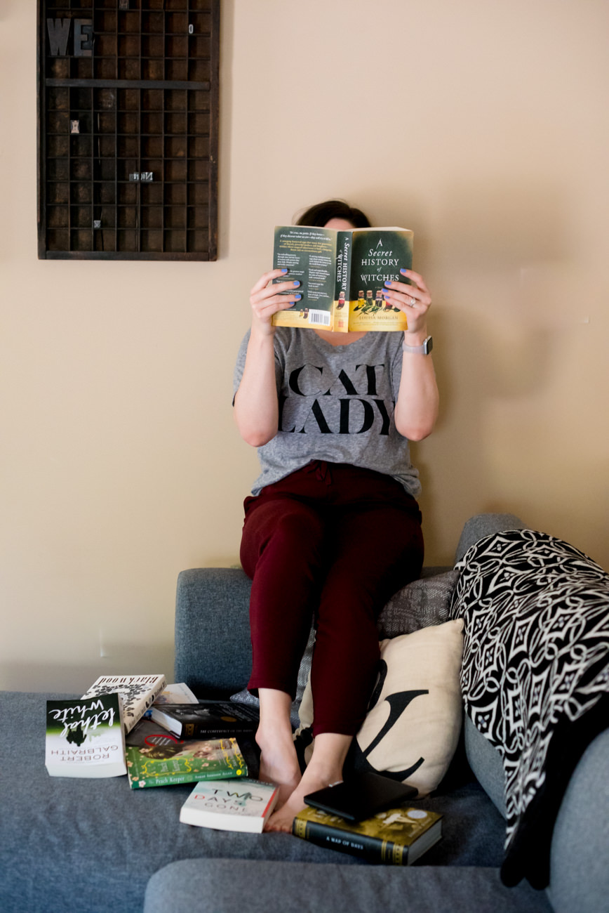 My Quarantine Reading List: 10 Books to Read While You're at Home // Miss Molly Moon