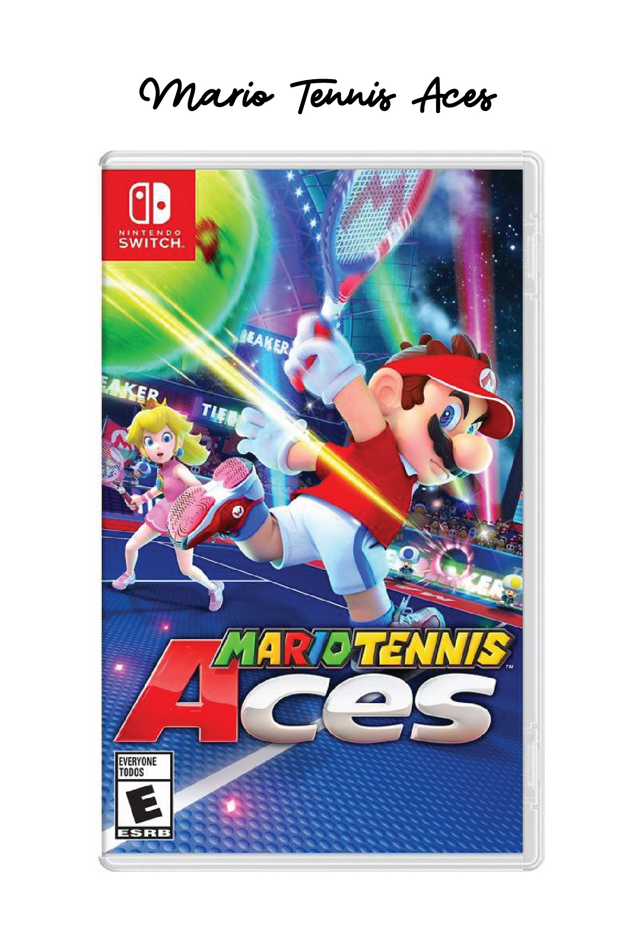 Mario Tennis Aces, The Best Nintendo Switch Games // Miss Molly Moon