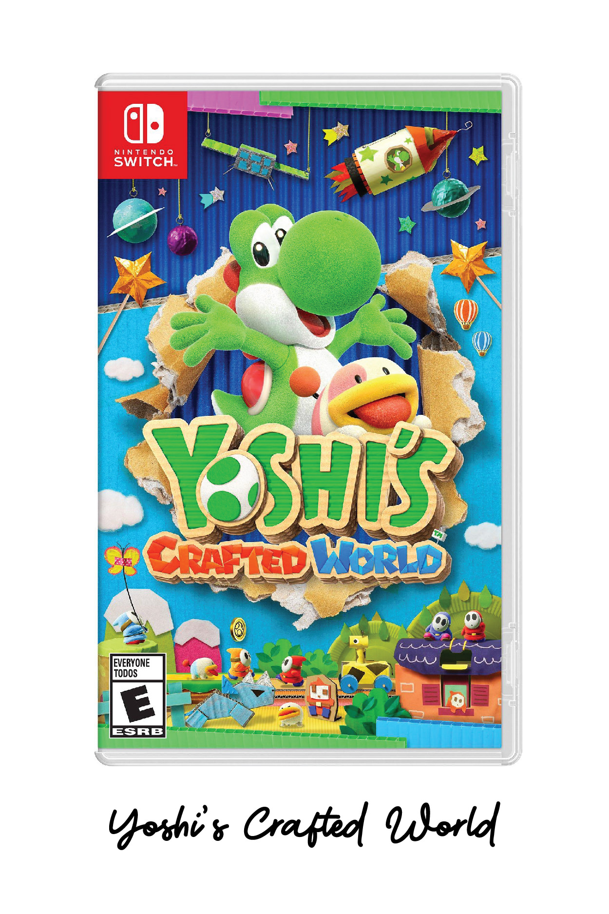 Yoshi's Crafted World, The Best Nintendo Switch Games // Miss Molly Moon