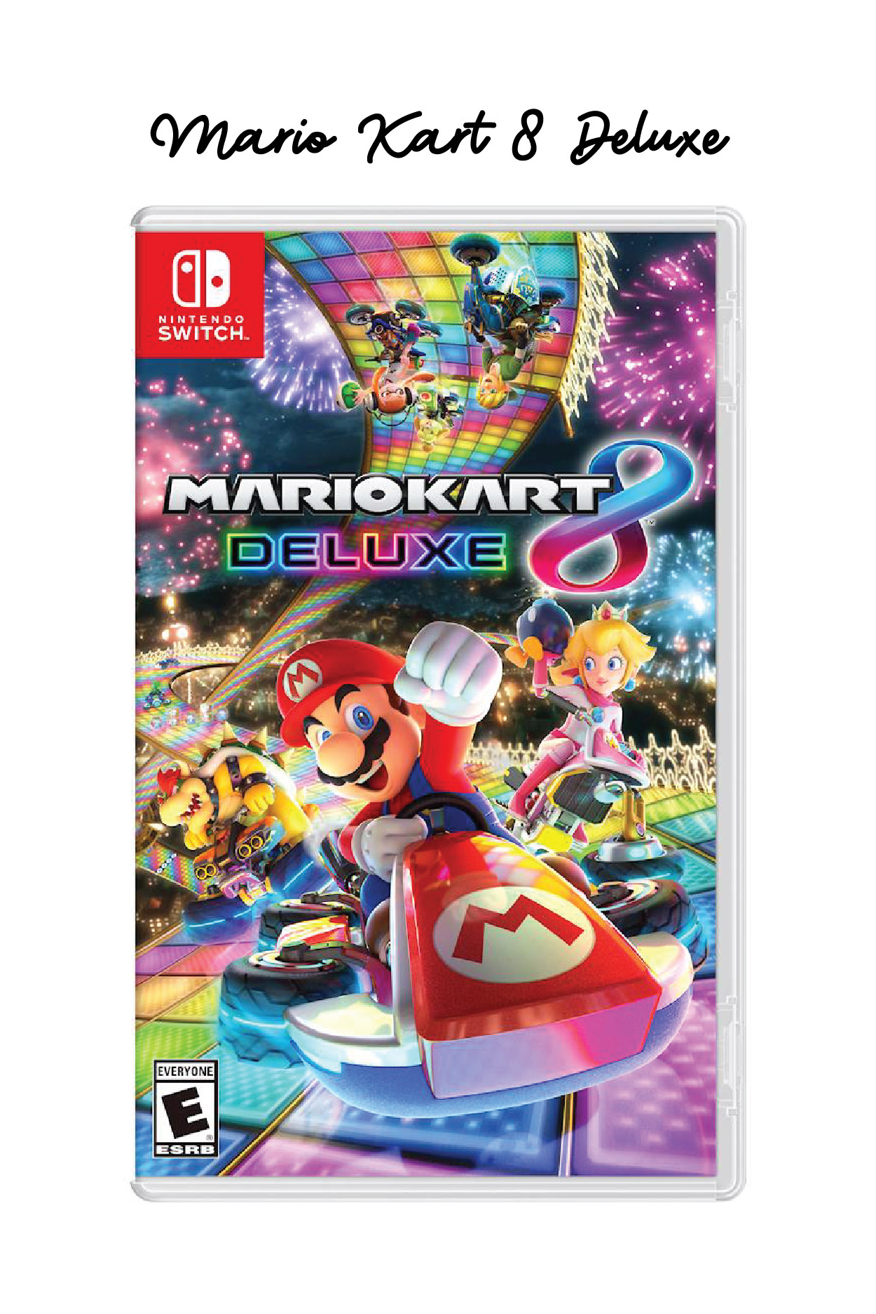 Mario Kart 8 Deluxe, The Best Nintendo Switch Games // Miss Molly Moon