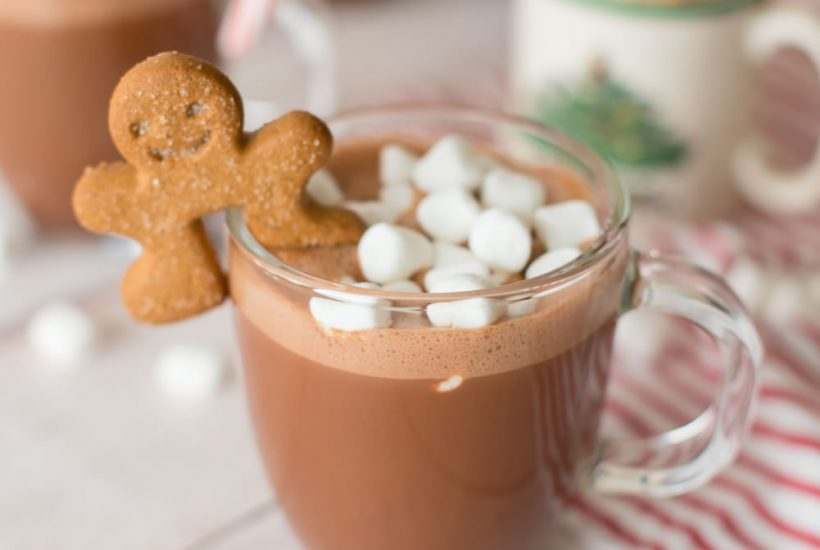 Boozy Hot Chocolate Three Ways
